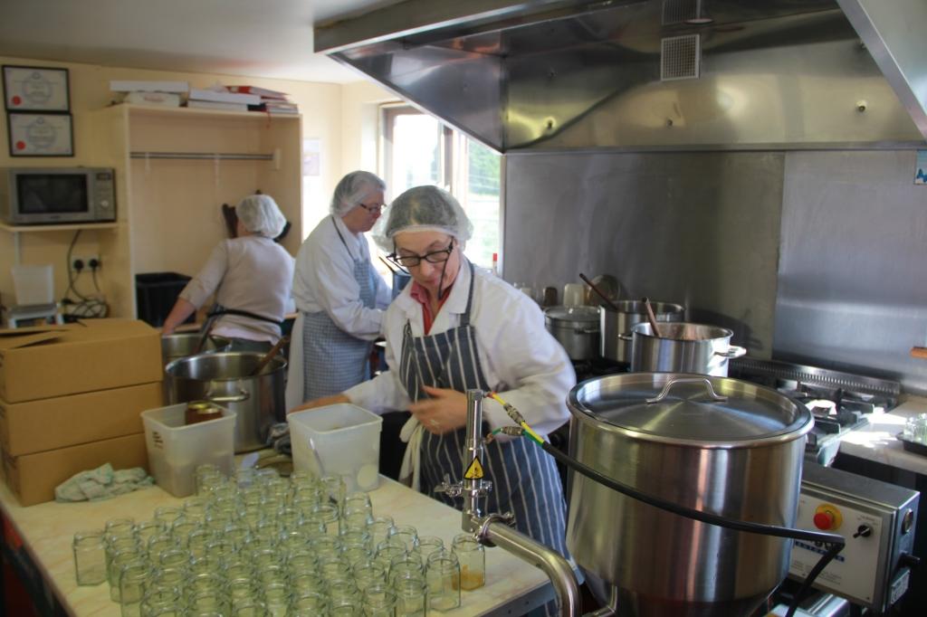 in der Küche von Crossogue Preserves