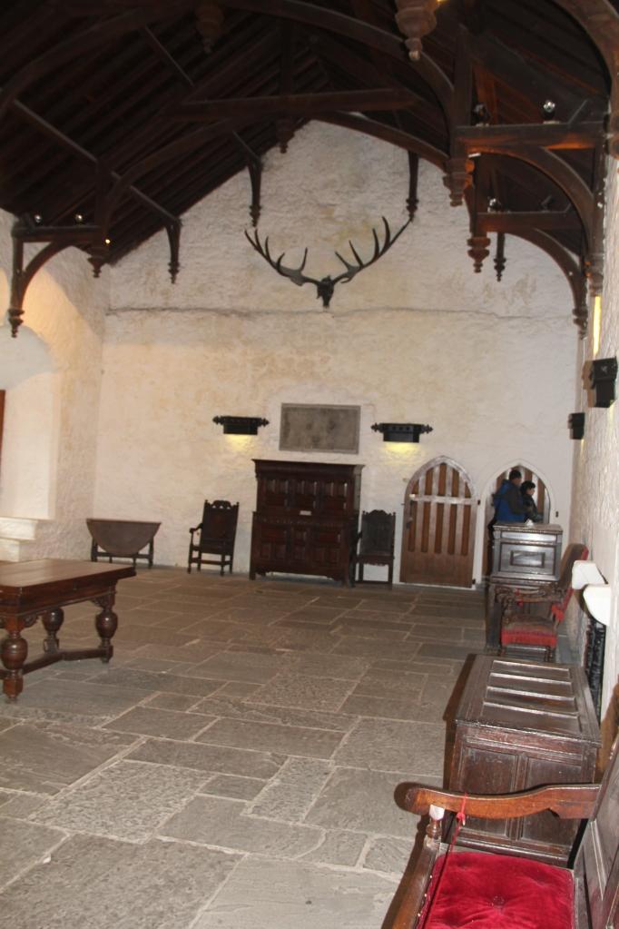 Bankettsaal im Cahir Castle