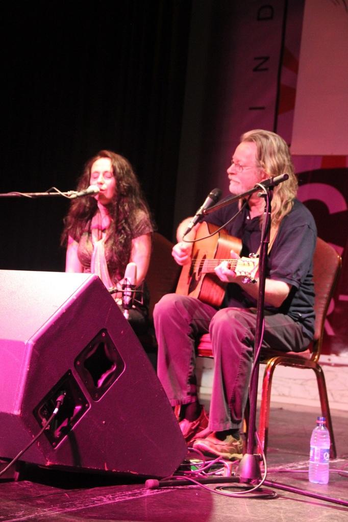 Vickey Keating und Declan Sinnott