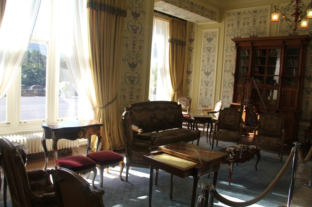 Drawing Room in Kylemore Abbey