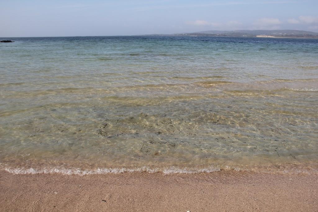 nicht Antigua, sondern der Strand bei Ballyconneely