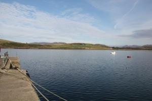 Am Pier in Cleggan